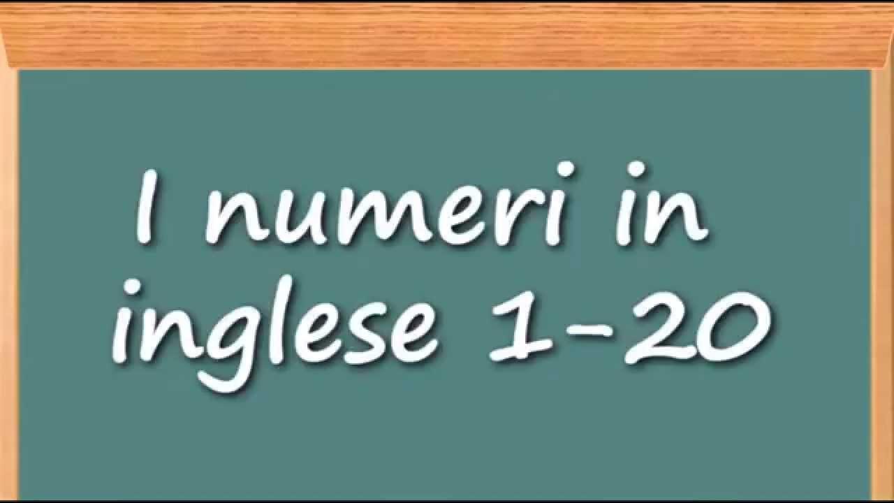 Delucidazione sui numeri in inglese